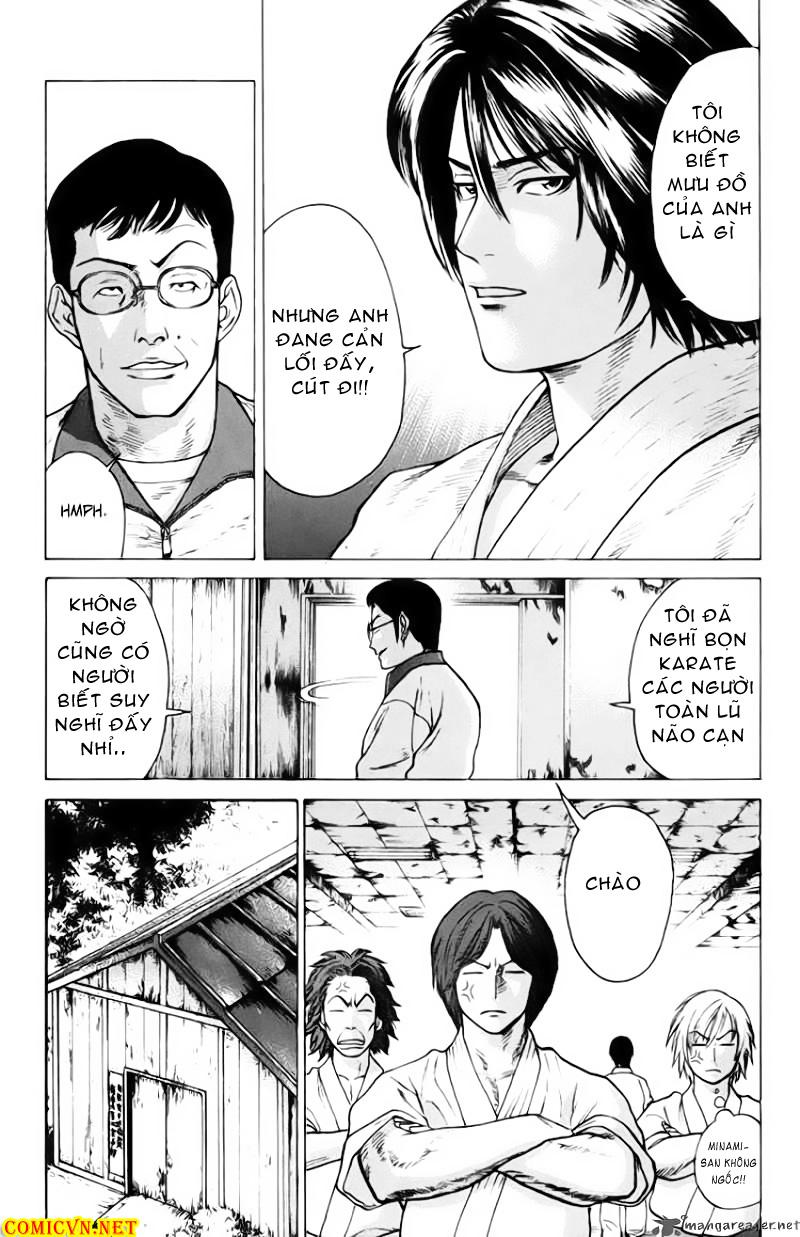 Karate Shoukoushi Kohinata Minoru chap 32 Trang 8