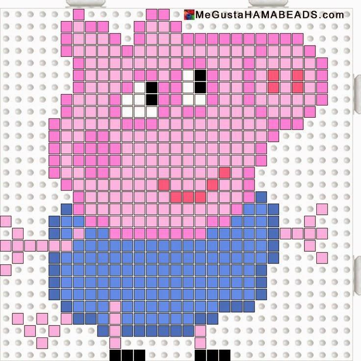 Bugigangas da Sussu: Peppa Pig - Ponto Cruz e Patch