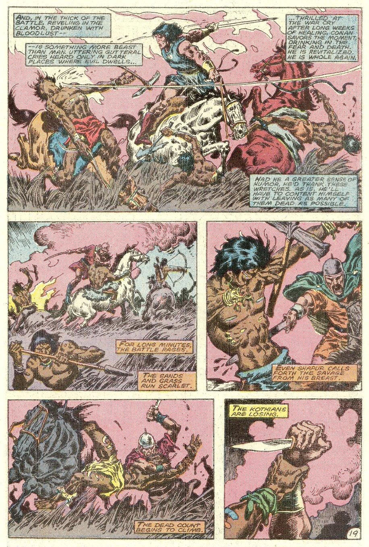 Conan the Barbarian (1970) Issue #182 #194 - English 20
