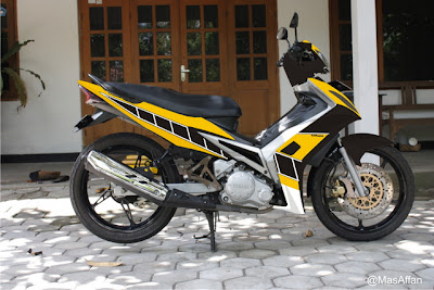Jupiter MX Minimalis Modifikasi