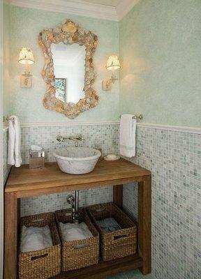 Ark arquitetura lavabo r stico for Picas redondas