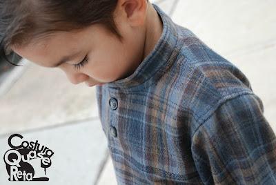camisa infantil flanela