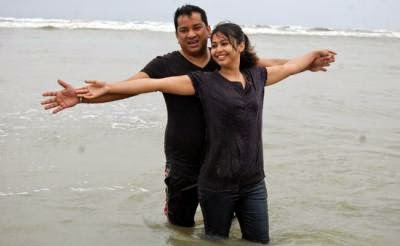 shawkat emon with Jinat Karim in the beach having honeymoon