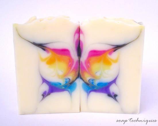 soap challenge – Butterfly swirl