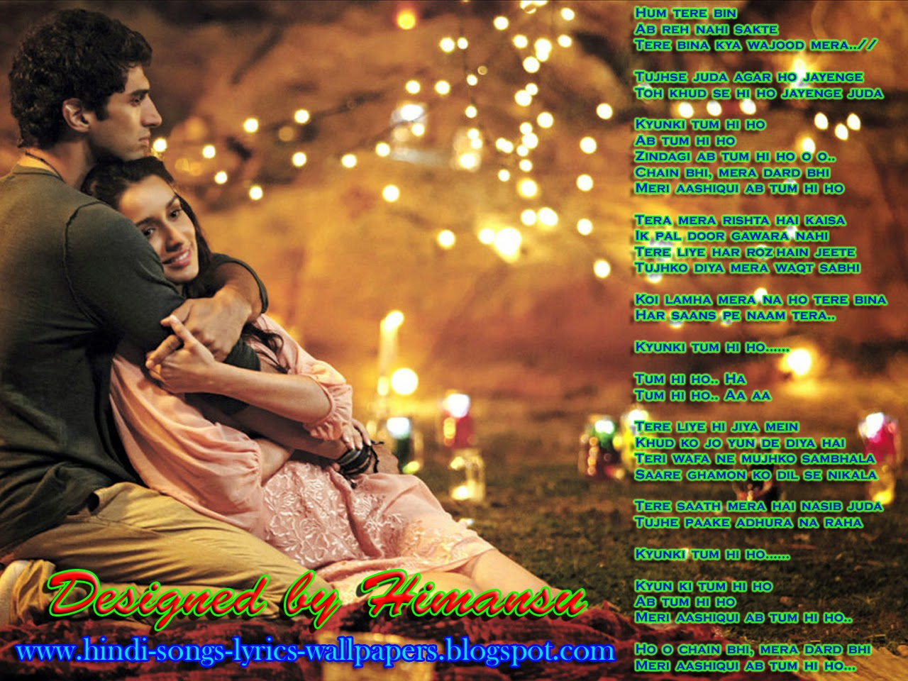 Love Wallpapers Songs : Hindi Songs Lyrics Wallpapers