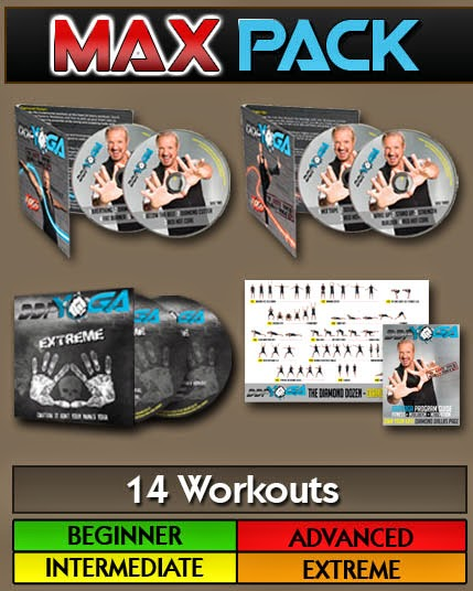 DDP Yoga Discount Special Offer - Get the DDP Yoga 6 DVD Max Pack for HALF LIST PRICE right now!