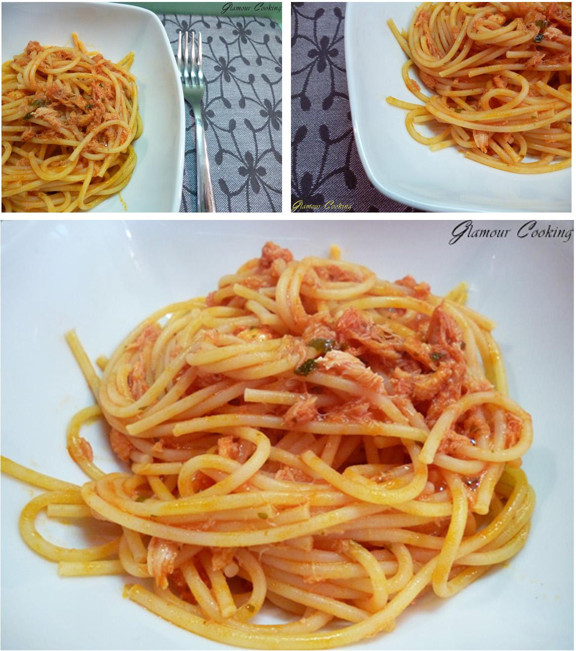 Glamour cooking spaghetti alla polpa di granchio tr s for Cucinare granchio
