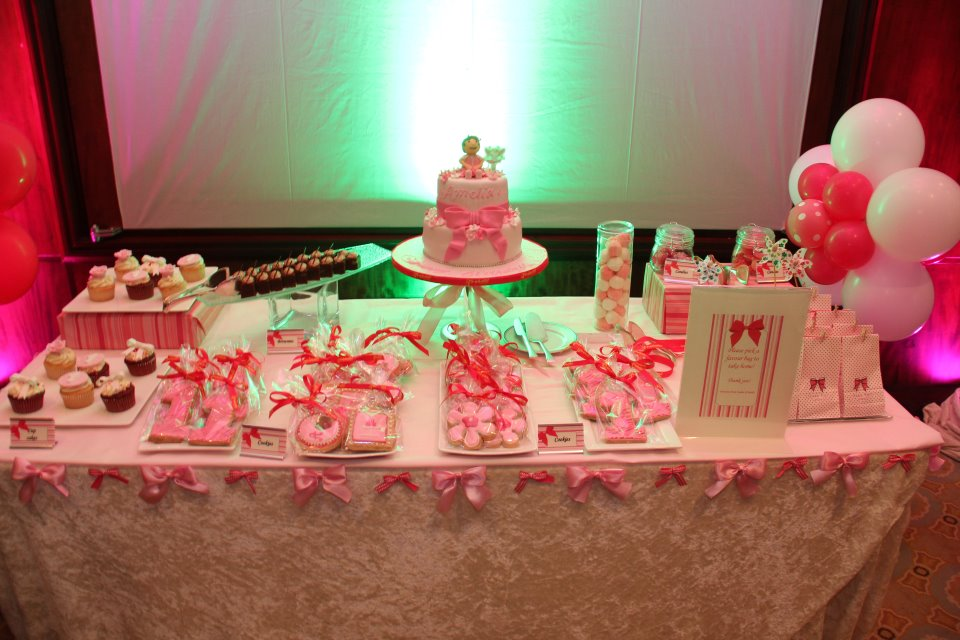 Amis Party Ideas Pretty In Pink First Birthday Party