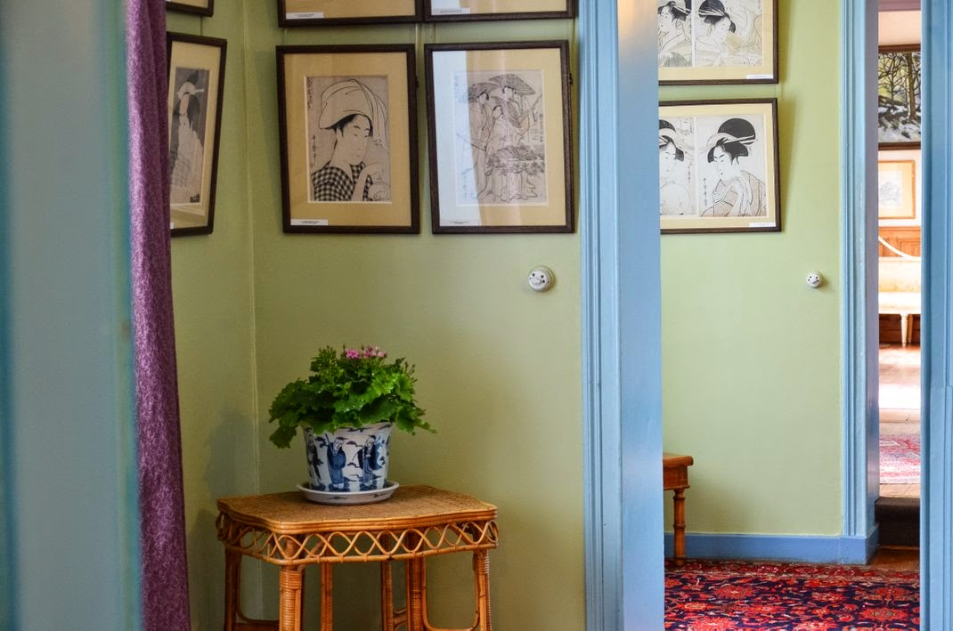 Giverny  - maison de Monet - chambre Alice