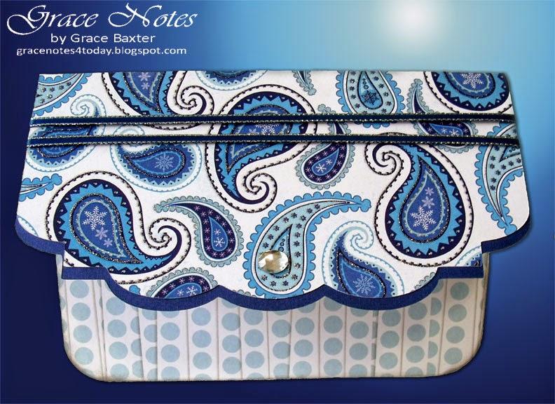 Purse-onality, clutch purse card