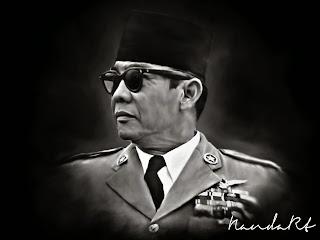 Sketsa Bung Karno