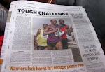 read newspaper articles