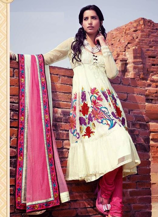 Punjabi Suits Neck Designs Party Wear Design Boutique 2014 Photos Images Pics Punjabi Suit ...
