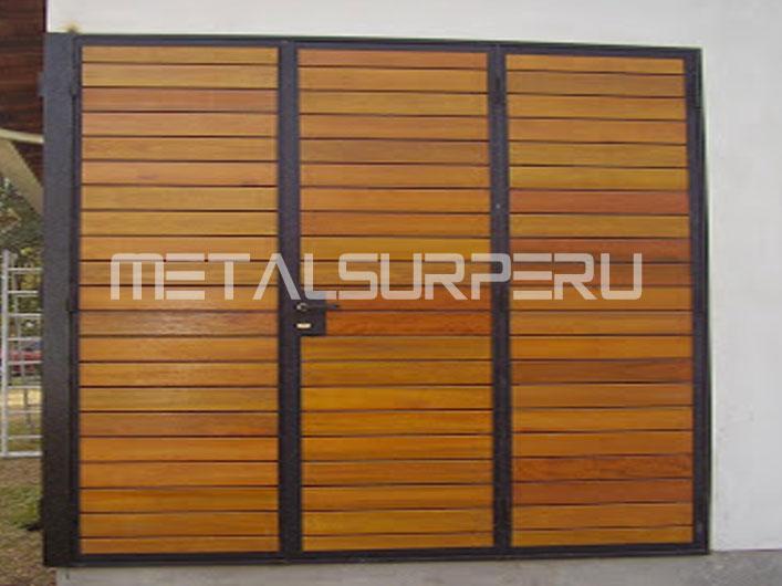 Techos metalicos livianos metalsur peru - Puertas de dos hojas ...