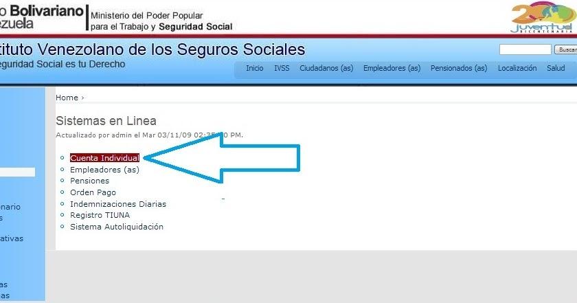 IVSS Instituto Venezolano de los Seguros Sociales 2015 ~ Amor Mayor