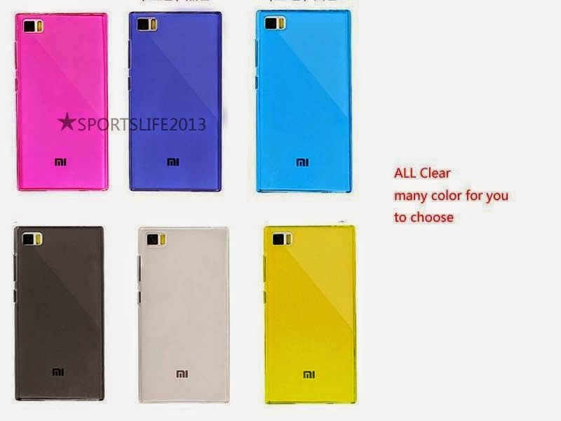 Ultra thin clear soft TPU Silicone Case Cover Skin For Xiaomi 3 Xiao Mi 3 M3 Mi3