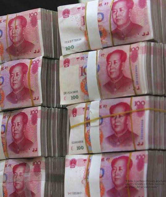 A pirâmide financeira chinesa desabando será um 'Deus nos acuda'.