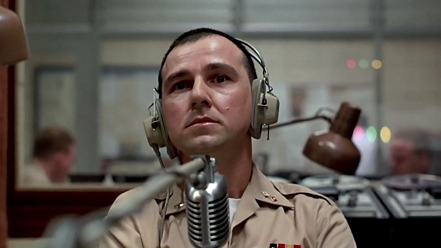 Good Morning Vietnam Line : In character bruno kirby and so it begins
