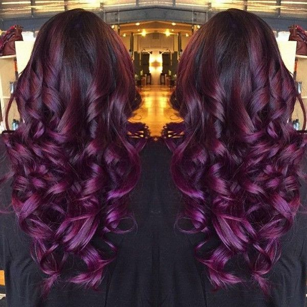 Ombre In Purple Shades Photos And Video Tutorials