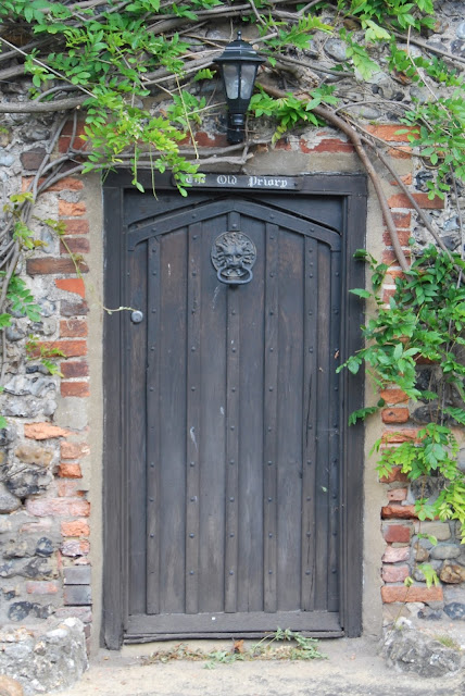 The Old Priory door, Bramber village, Sussex