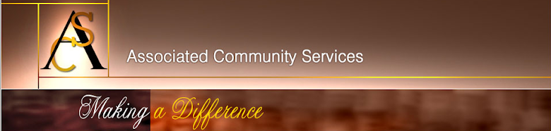 Associated Community Services Blog
