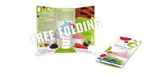 Free folding multi-color brochures