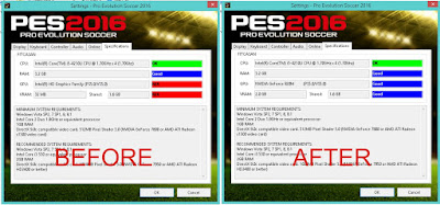 [PES 2016 Tutorial] Cara Mengatasi GPU & Vram Unable/no detect