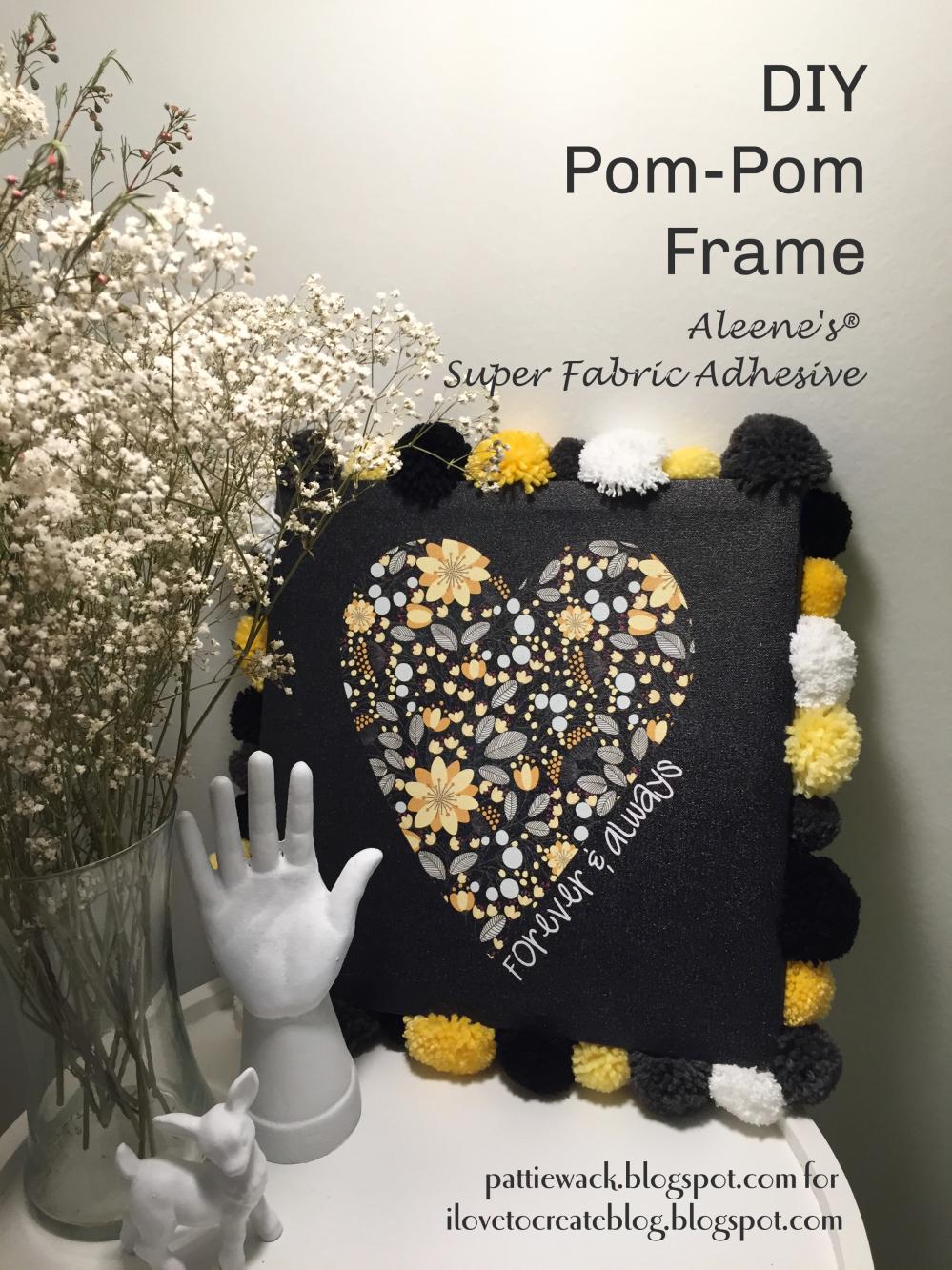 Pom-Pom Frame - Forever & Always – Pattiewack