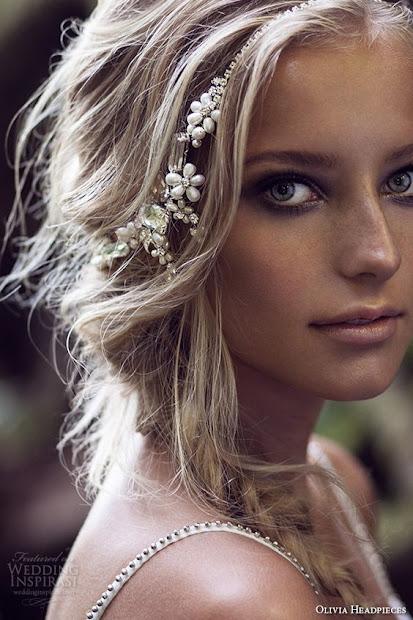 awesome boho bridal hairstyle ideas