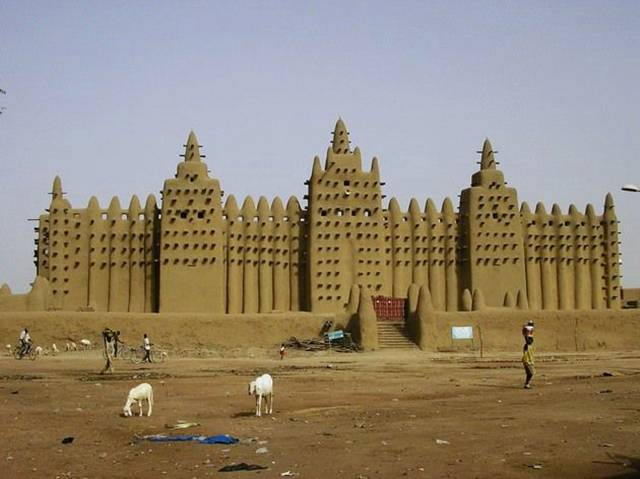 Djenne Mosque 003 - Mosque of Djenne !!!!