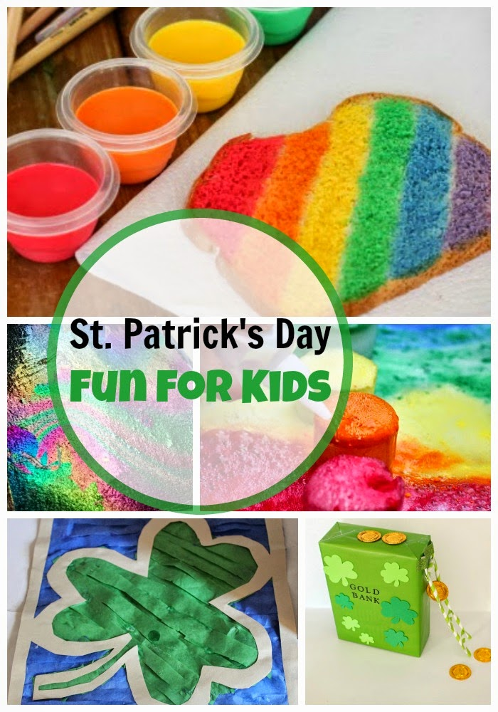St Patrick's Day 2015 - Hands-On Activities for Kids