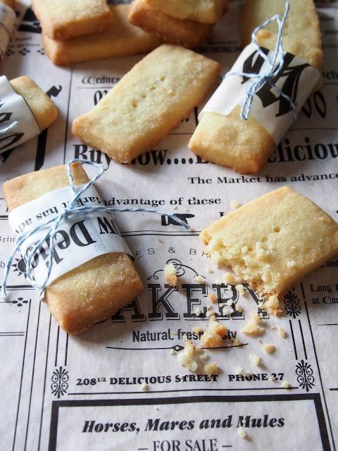 Shortbread-pikkuleivät