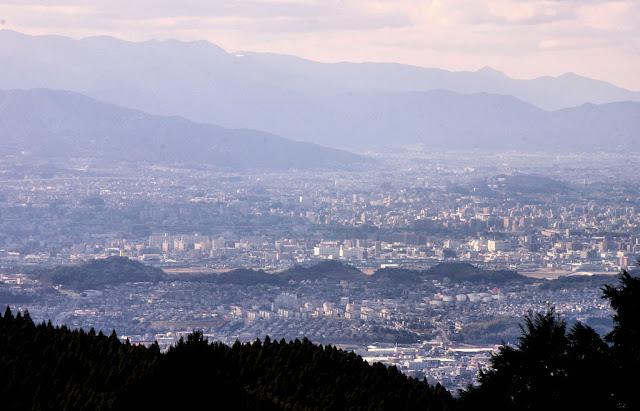 Fukuoka from Mt Wakasugi, Kyushu, Japan