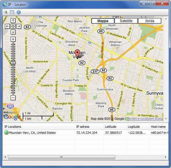 ip locator is another freeware application from the tcpmonitor website