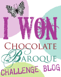 Winnaar Chocolate Baroque challenge