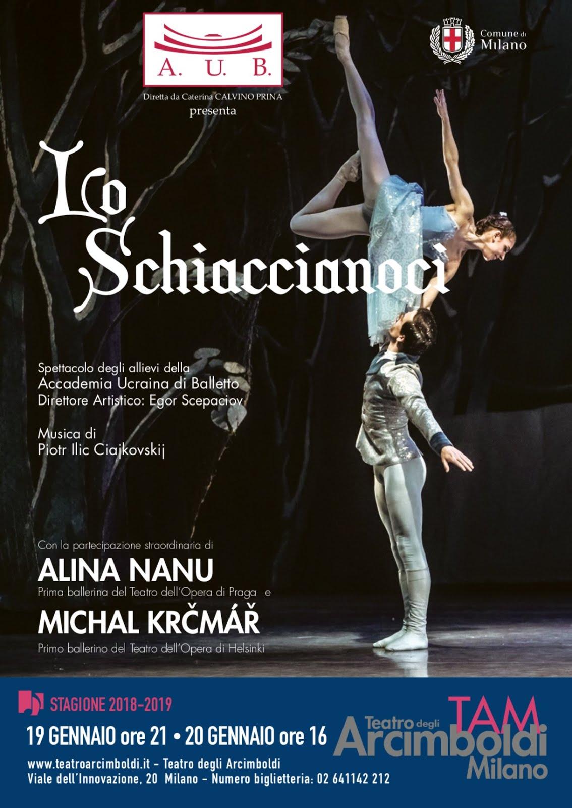 SCHIACCIANOCI di Accademia Ucraina di Balletto