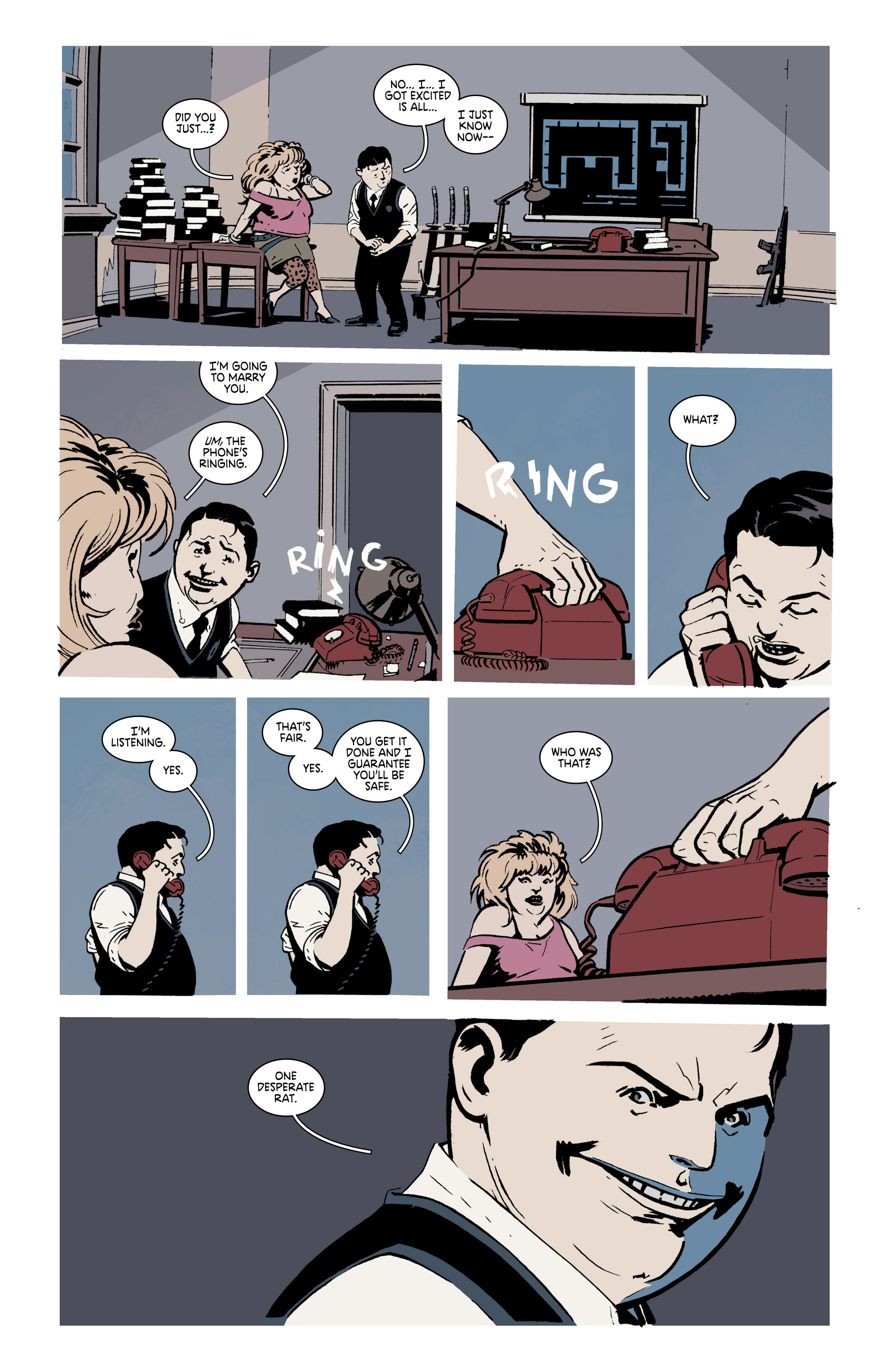Read online Deadly Class comic -  Issue #19 - 24