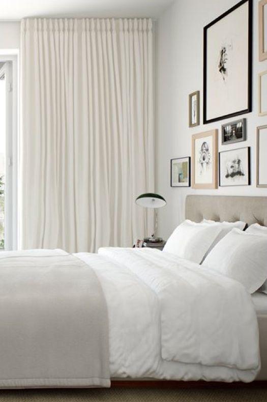 snygga gardiner till sovrummet