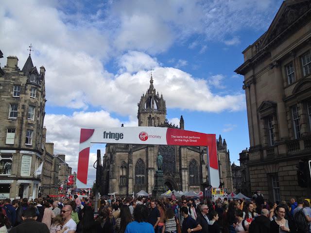 Fringe Festival a Edimburgo