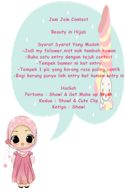 Contest : Beauty In Hijab