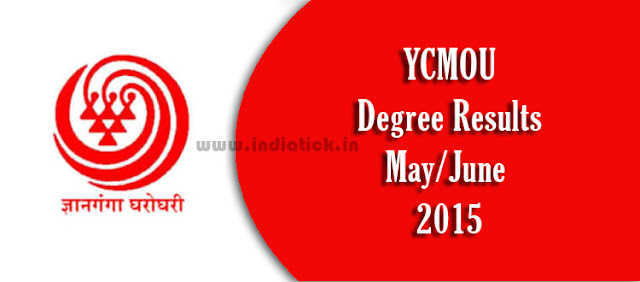 YCMOU result May June 2015 FY SY TY