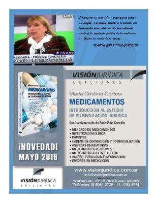 """Nuevo libro: """"Medicamentos: introducción al estudio de su regulación jurídica"""""""