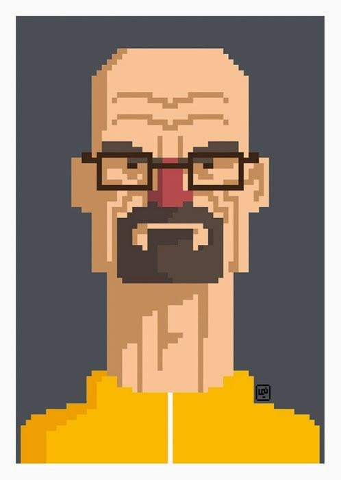Breaking Bad Pixel Art