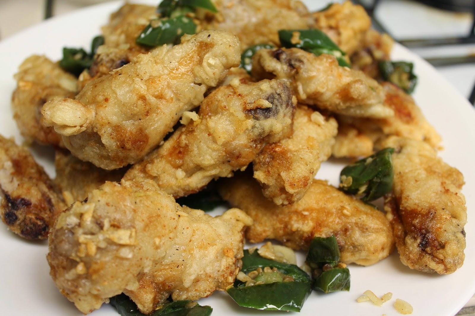 Kathy Nom Nom: Salt and Pepper Chicken Wings