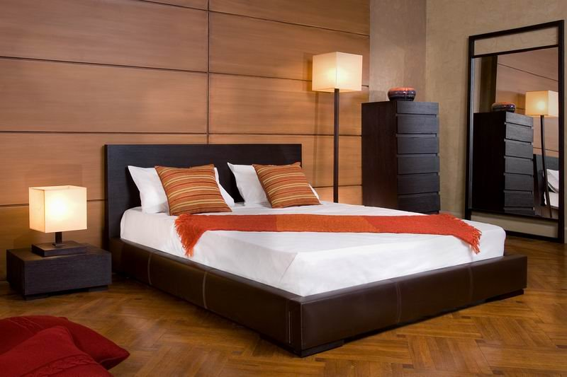 Modern wooden bed designs an interior design for Wooden bed interior design