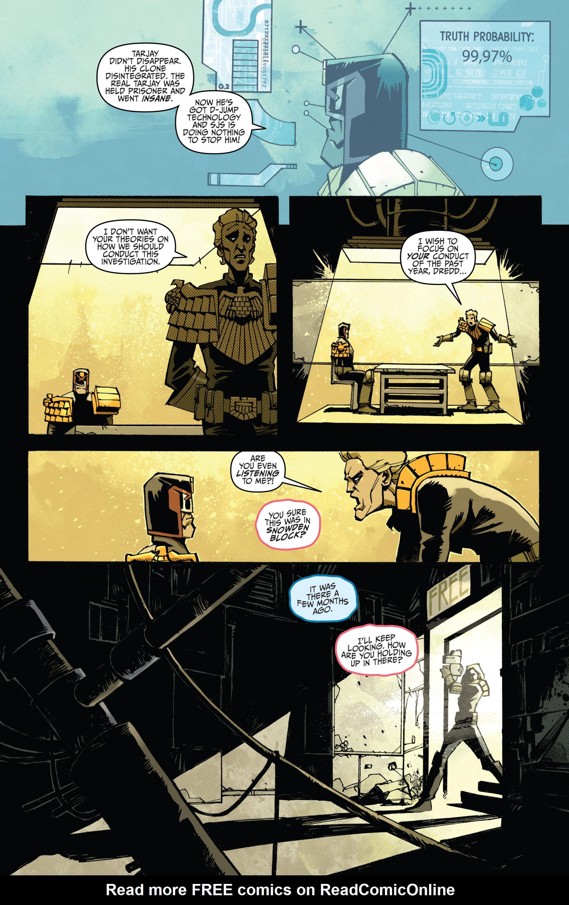 Read online Judge Dredd (2012) comic -  Issue #15 - 8