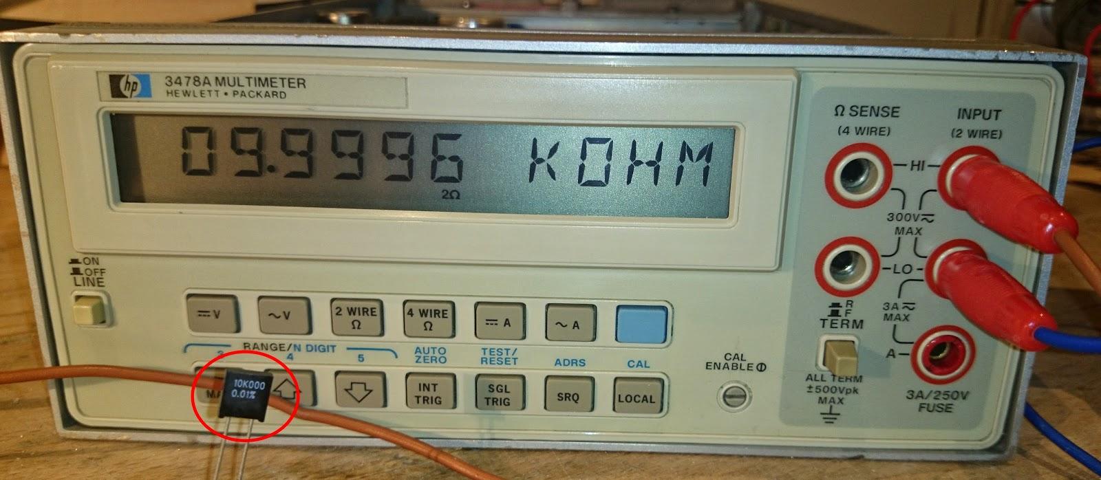 multimètre fluke pm 2525