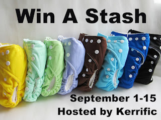 win a cloth diaper stash button