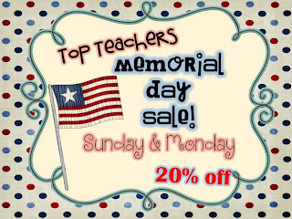 Memorial Day Sale at Teachers Pay Teachers no promo code needed