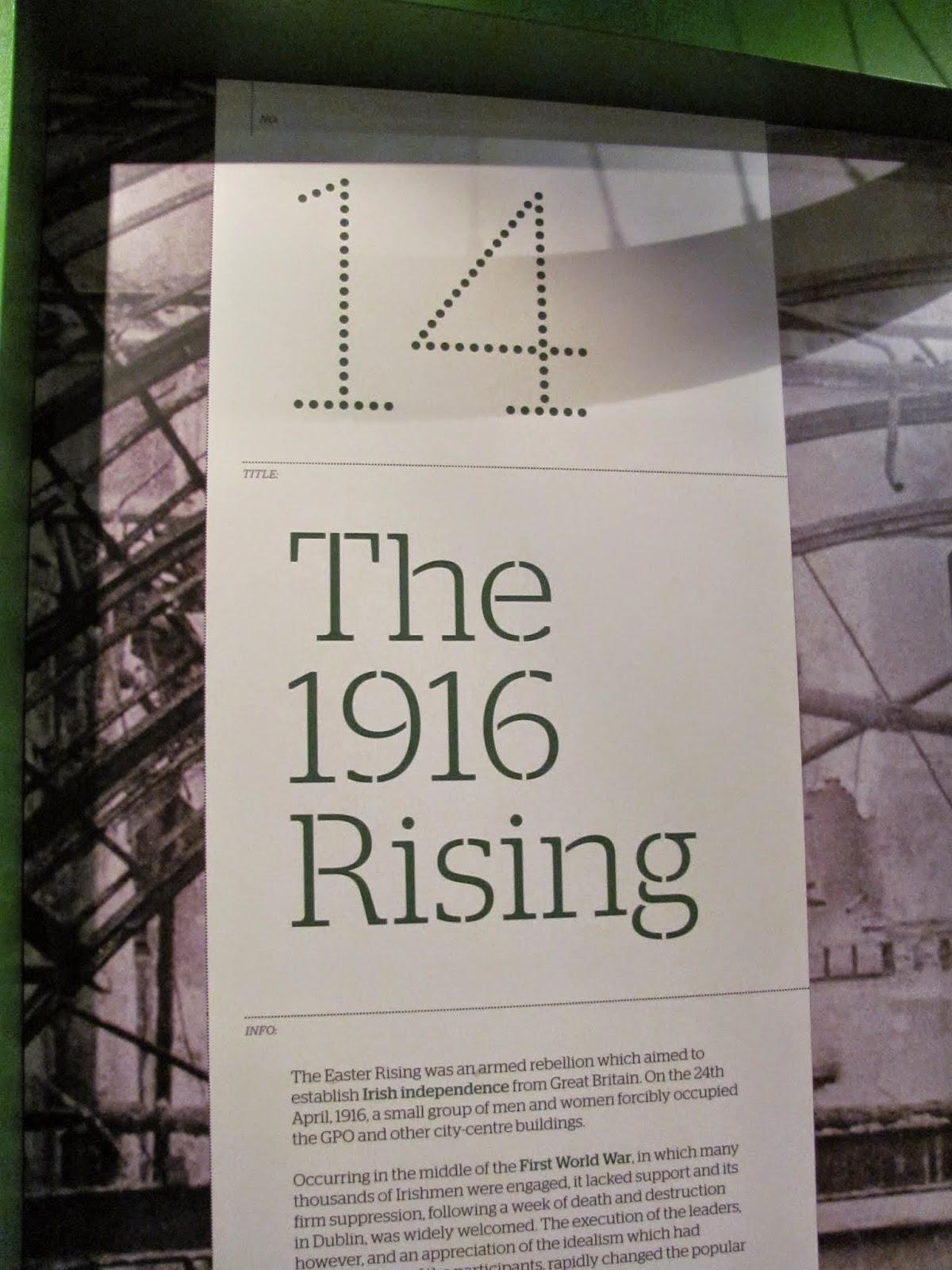 The 1916 Rising Exhibit
